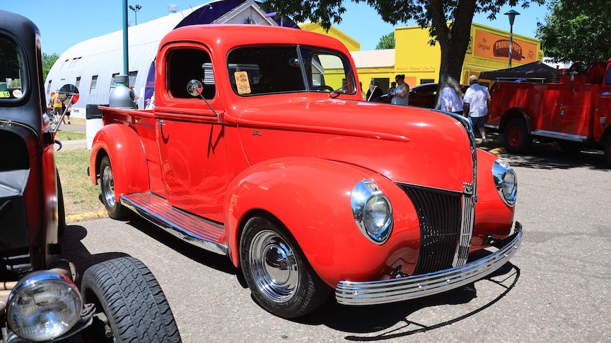 Back to the 50's 2021—Hot Rod Trucks