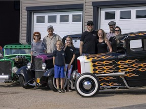 Regina family keeps the streets alive with collection of classic cars
