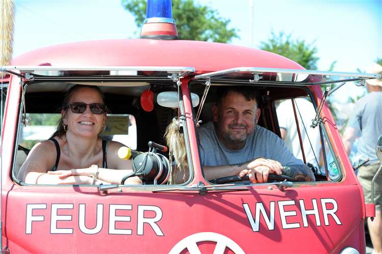 Hot rods in Holbeach as sun shines on car show